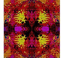 Cosmic Graffiti Photographic Print