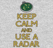 Keep use a radar Kids Tee