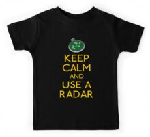 Keep use a radar Kids Tee