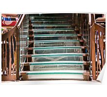 Glass Staircase Poster