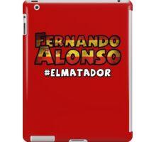 Fernando Alonso iPad Case/Skin