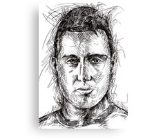 Santi Cazorla - Spanish Genius Canvas Print