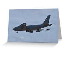 Side view of the KC-135 Stratotanker Greeting Card