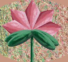 The Hidden Flower 6 by Thecla Correya