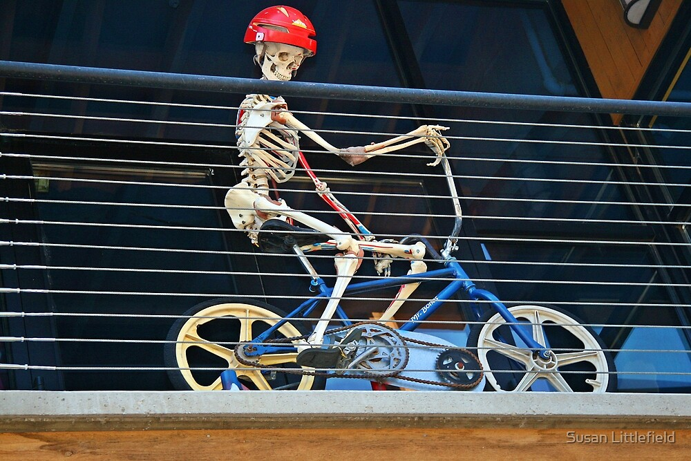 Gee, maybe I am taking this exercise thing a bit too far! by Susan Littlefield