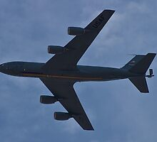 KC-135 Stratotanker Belly by Henry Plumley