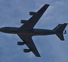 KC-135 Stratotanker Belly by Henry Plumley