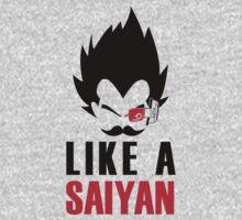 Like a saiyan One Piece - Long Sleeve