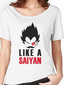 Like a saiyan Women's Relaxed Fit T-Shirt