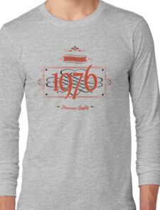 Since 1976 (Red&Black) Long Sleeve T-Shirt