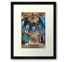 Chapel of St Thomas Aquinas • St Patrick's Cathedral • Melbourne Framed Print