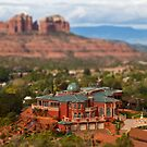 Sedona, Arizona (Tilt Shift) by Barb White