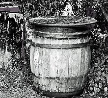 An Old Barrel.. Devon UK by lynn carter