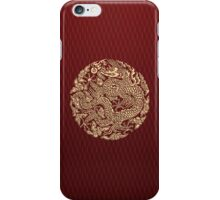 Gold Dragon Ball shenlong iPhone Case/Skin