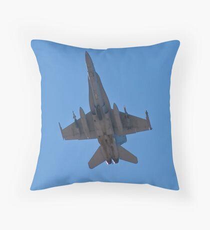 F/A 18 Hornet Belly Throw Pillow