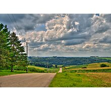 Back-roads Photographic Print