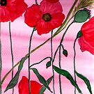 Poppies by TrixiJahn