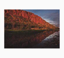 """Reflections"" Glen Helen Gorge - West Macdonnel Ranges-N.T. One Piece - Long Sleeve"