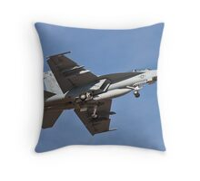 F/A 18 Hornet belly Throw Pillow