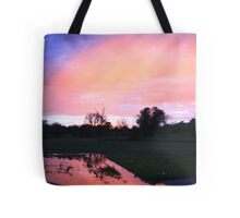 """Sunset on Yankton """"Sioux"""" Nation Tote Bag"""