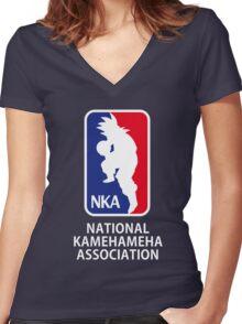 NKA Women's Fitted V-Neck T-Shirt