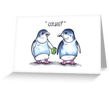 Coldie? Greeting Card