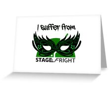 Stage Fright Android Vulnerability Greeting Card