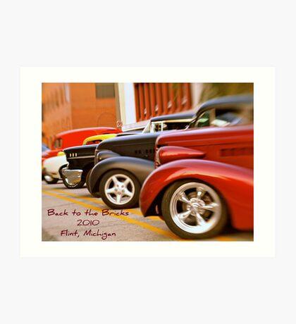 Back to the Bricks Classic Cars 2010 Art Print