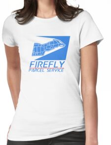 Firefly Parcel Service Womens Fitted T-Shirt