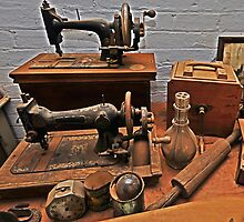 Vintage Sewing Machines by bazcelt