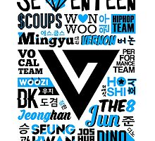 SEVENTEEN Collage by skeletonvenus