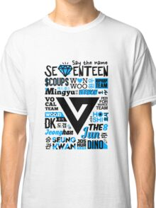 SEVENTEEN Collage Classic T-Shirt
