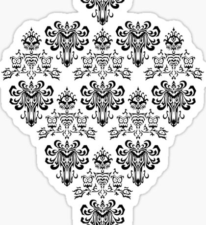 Owl, Ghost and Cyclops Monster Pattern Art Sticker