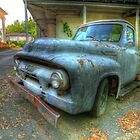Lonely 56 Ford by C David Cook