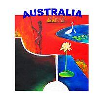 AUSTRALIA  Photographic Print