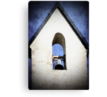 Church Steeple with bell..... Canvas Print