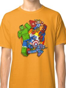 Cute Cube superheroes Group Classic T-Shirt