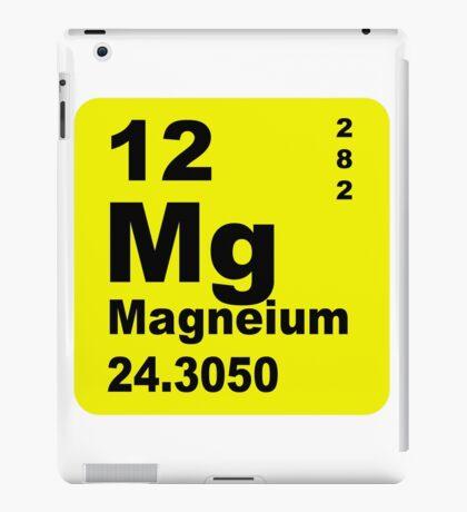 Magnesium Periodic Table of Elements iPad Case/Skin