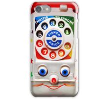 Smiley Toys Dial Phone iPhone Case/Skin