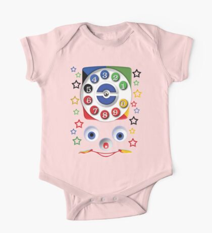 Smiley Toys Dial Phone One Piece - Short Sleeve