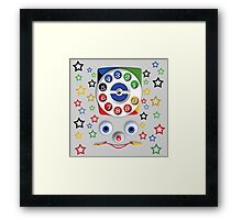Smiley Toys Dial Phone Framed Print
