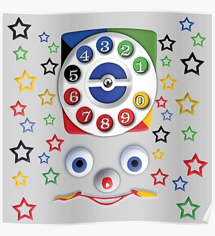 Smiley Toys Dial Phone Poster