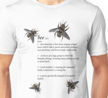 Definition of a Bee - Jupiter Ascending Unisex T-Shirt
