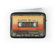 Awesome transparent mix cassette tape volume 1 Laptop Sleeve