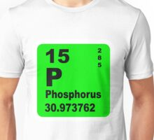 Phosphorus Periodic Table of Elements Unisex T-Shirt