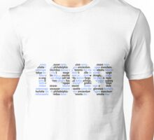 1989 world tour cities Unisex T-Shirt