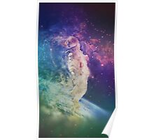 Psychedelic Astronaut Poster