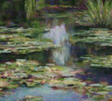 Monet's Lily Pond Sticker