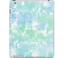 Green-blue watercolor iPad Case/Skin