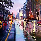 Flinders Street by Guntis Jansons